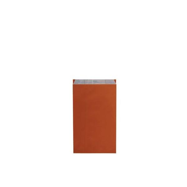 Pochette cadeau kraft unies orange - Lot 10